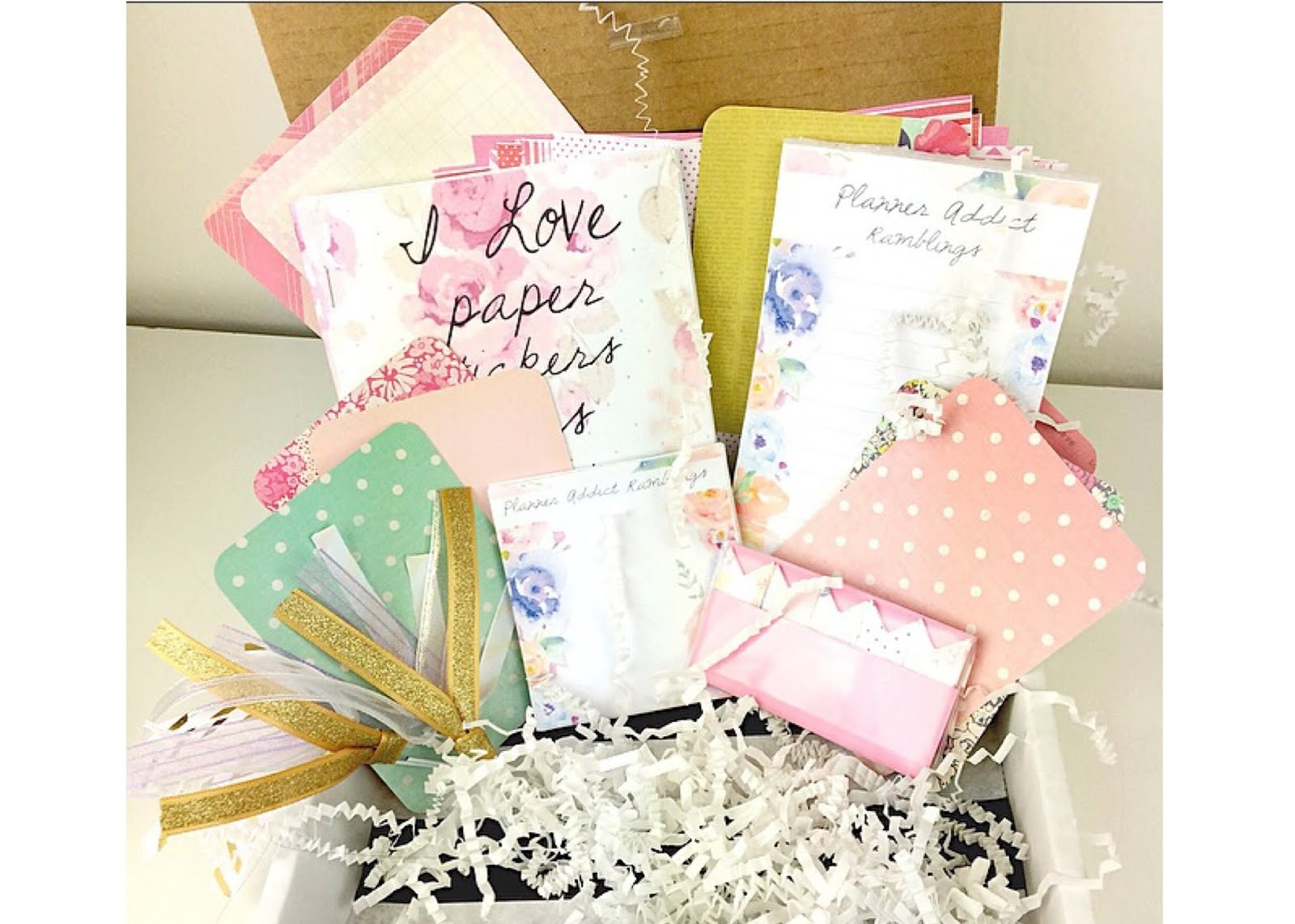Get Free Shipping on the Planner Addict Box