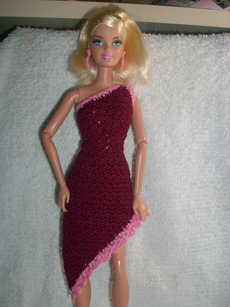 Crochet For Barbie The Belly Button Body Type Beautiful In