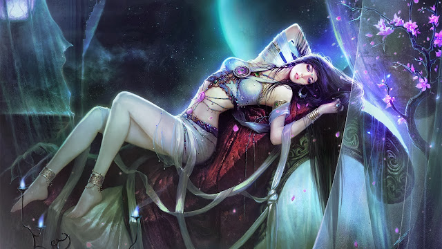 beautiful fantasy girl wallpapers hd