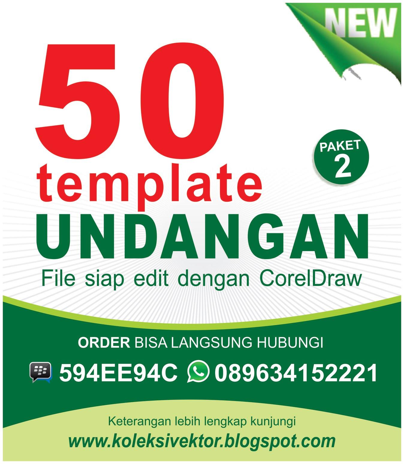 50 Template undangan