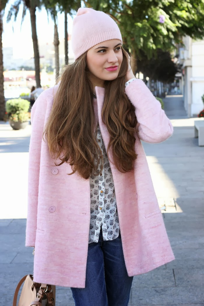 abrigo_rosa_zara_coat_pink_beanie_look_streetstyle_angicupcakes05