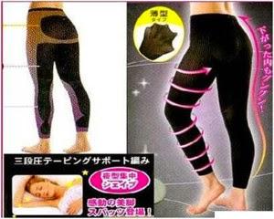 Korse Pelangsing Slimming Night Legging asli Untuk Mengecilkan Paha Dan Betis