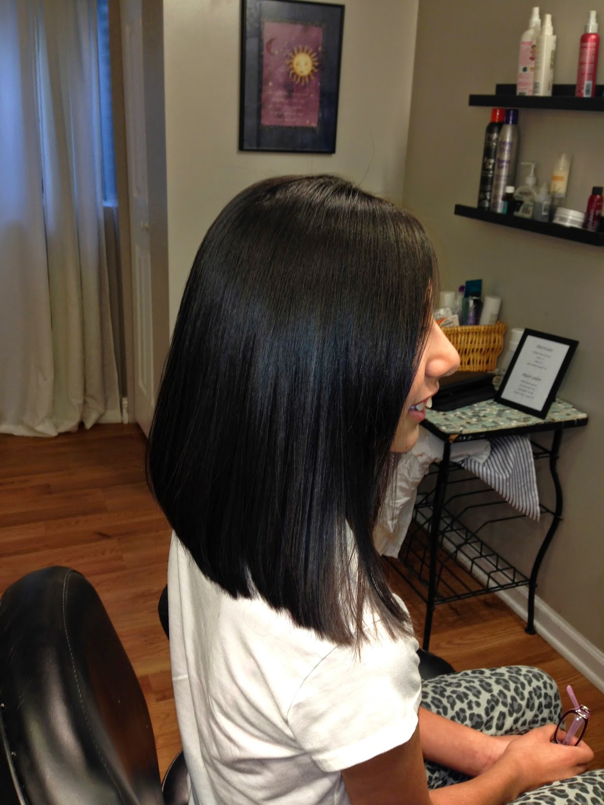 "Layered Angled Bob Haircut (Hair Tutorial) ""Locks of Love"" Long to"