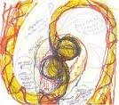 Anne Tyng, sketch for Inhabiting Geometry.