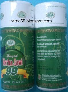 "<img src=""http://1.bp.blogspot.com/-mRB6zFHz-j4/UMs0WRZzg1I/AAAAAAAAAas/IOuO5AVA8dU/s1600/Minyak+Herbal+Jawi+99_ratno38.JPG"" alt=""Minyak Herba Jawi 99"">"