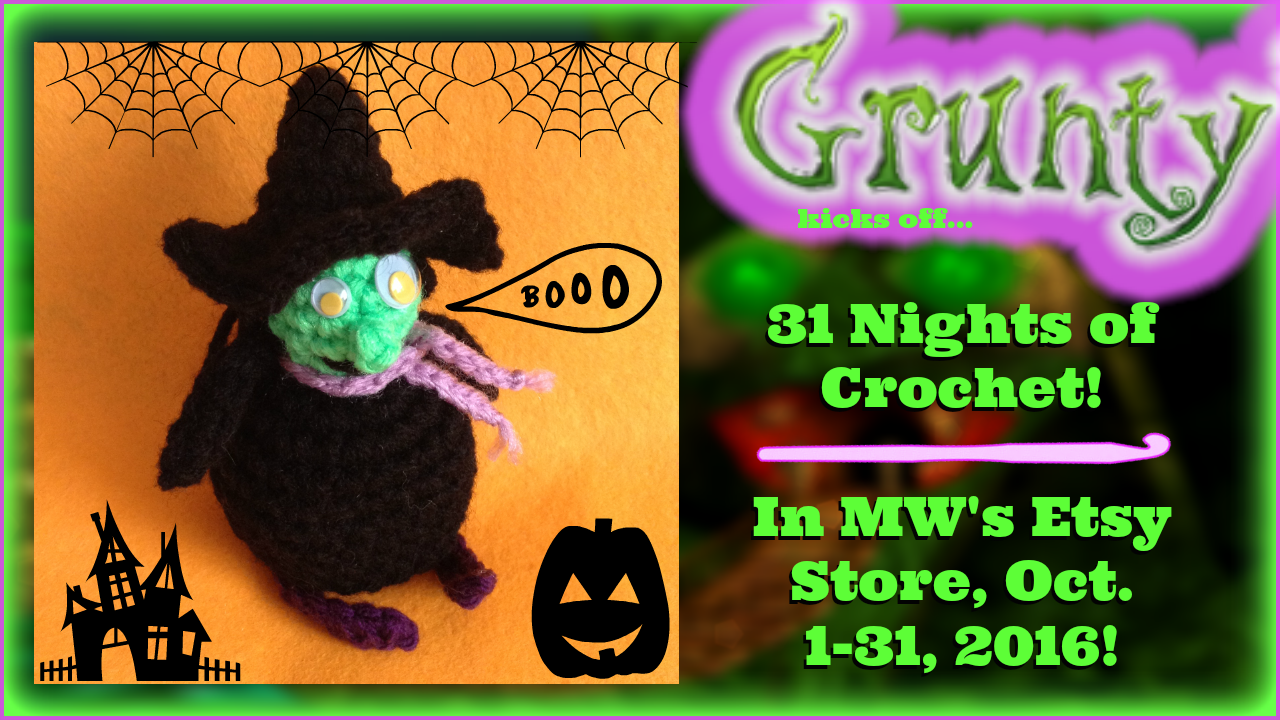 Grunty kicks off 31 nights of Halloween!