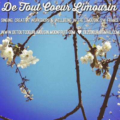 retreat, France, travel, Creuse, singing, wellbeing, wellness, from the heart, countryside, nature,