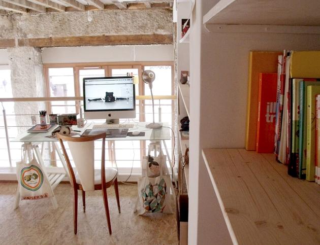 Isacile mon petit bureau for Petit bureau de travail