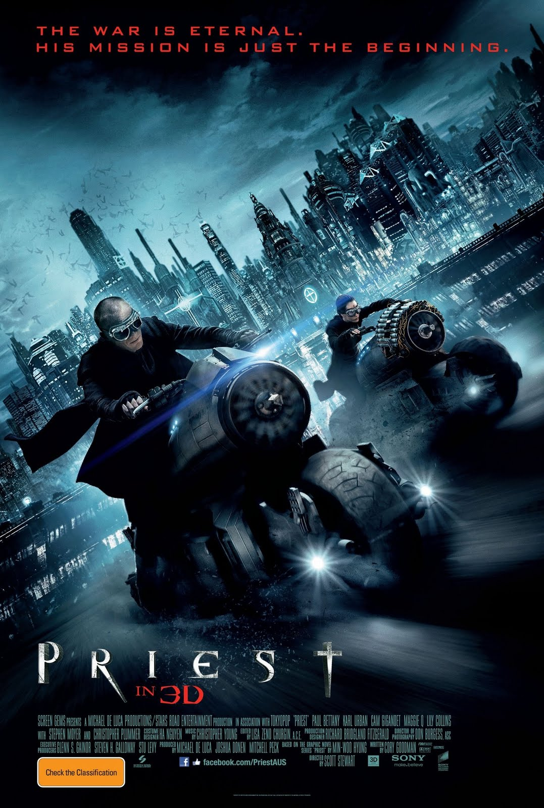 Paul Bettany got a lead role as the most badass priest ever! Pacific Rim 2013 Dvd Cover
