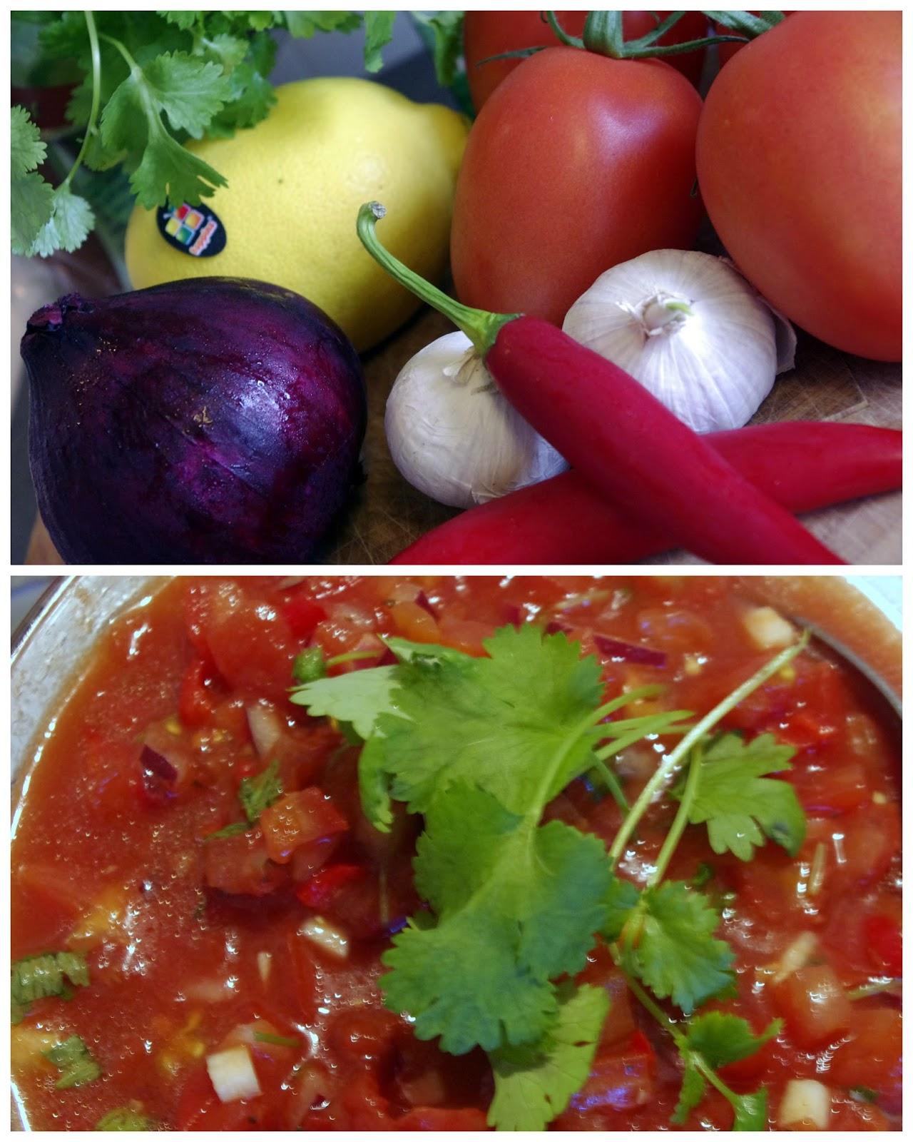 Hjemmelaget tomatsalsa