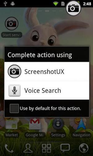 برنامج تصوير الشاشة للاندرويد Screenshot UX Trial