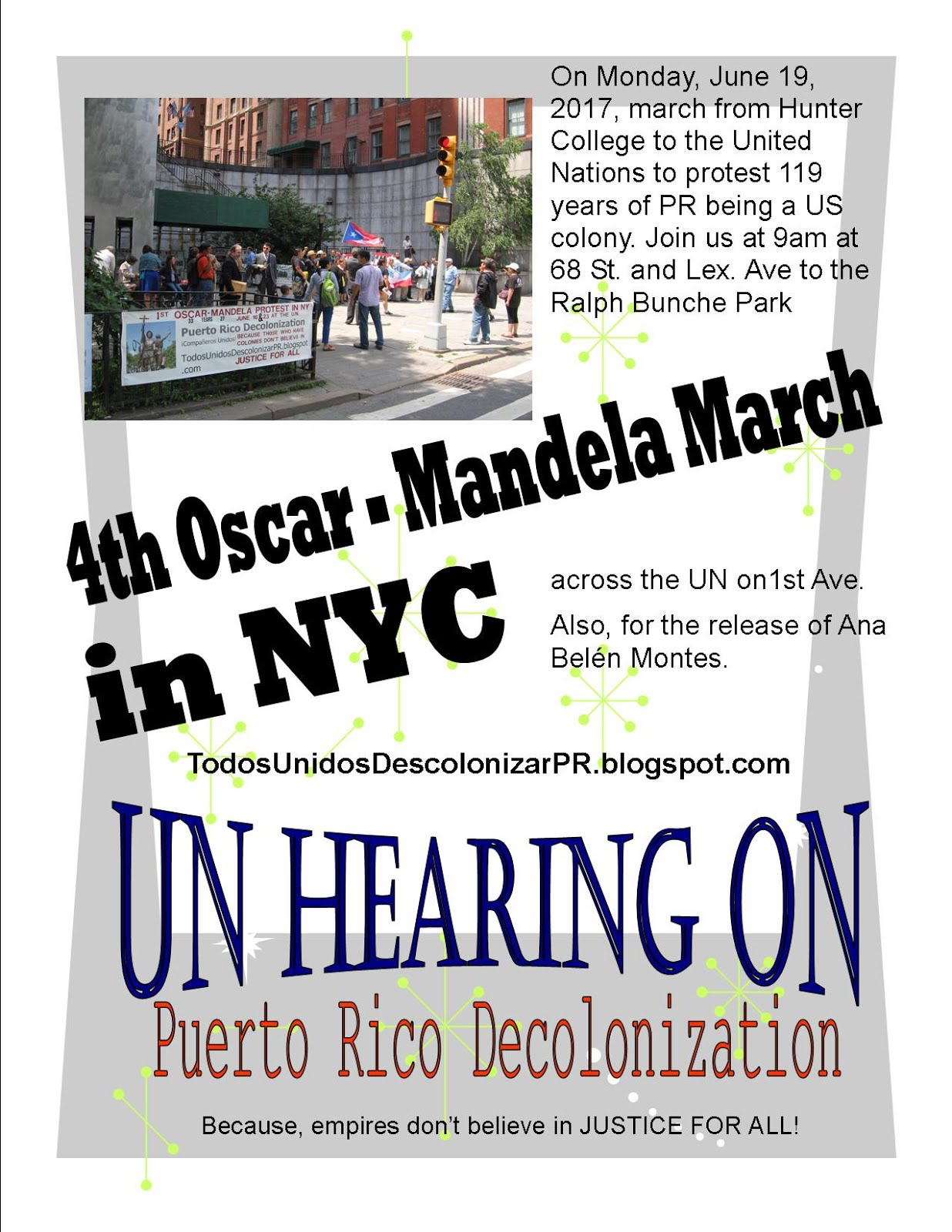 4th Oscar - Mandela March in NYC 2017