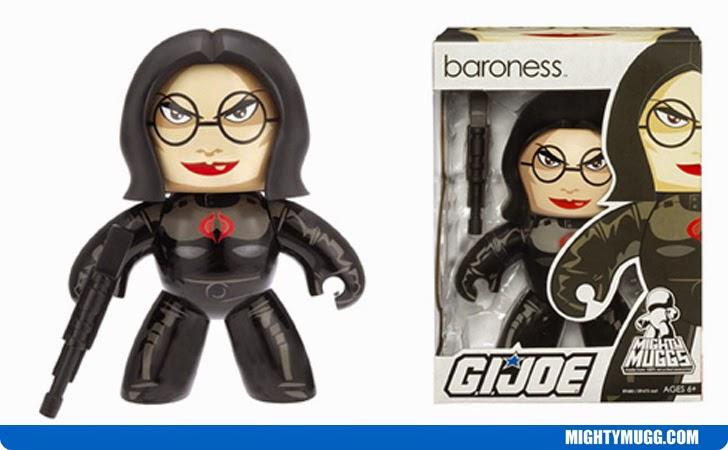Baroness G.I.JOE Mighty Muggs Wave 2
