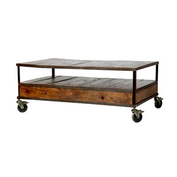 Industrial Coffee Table 649 Industrial Mansard Coffee Table 399
