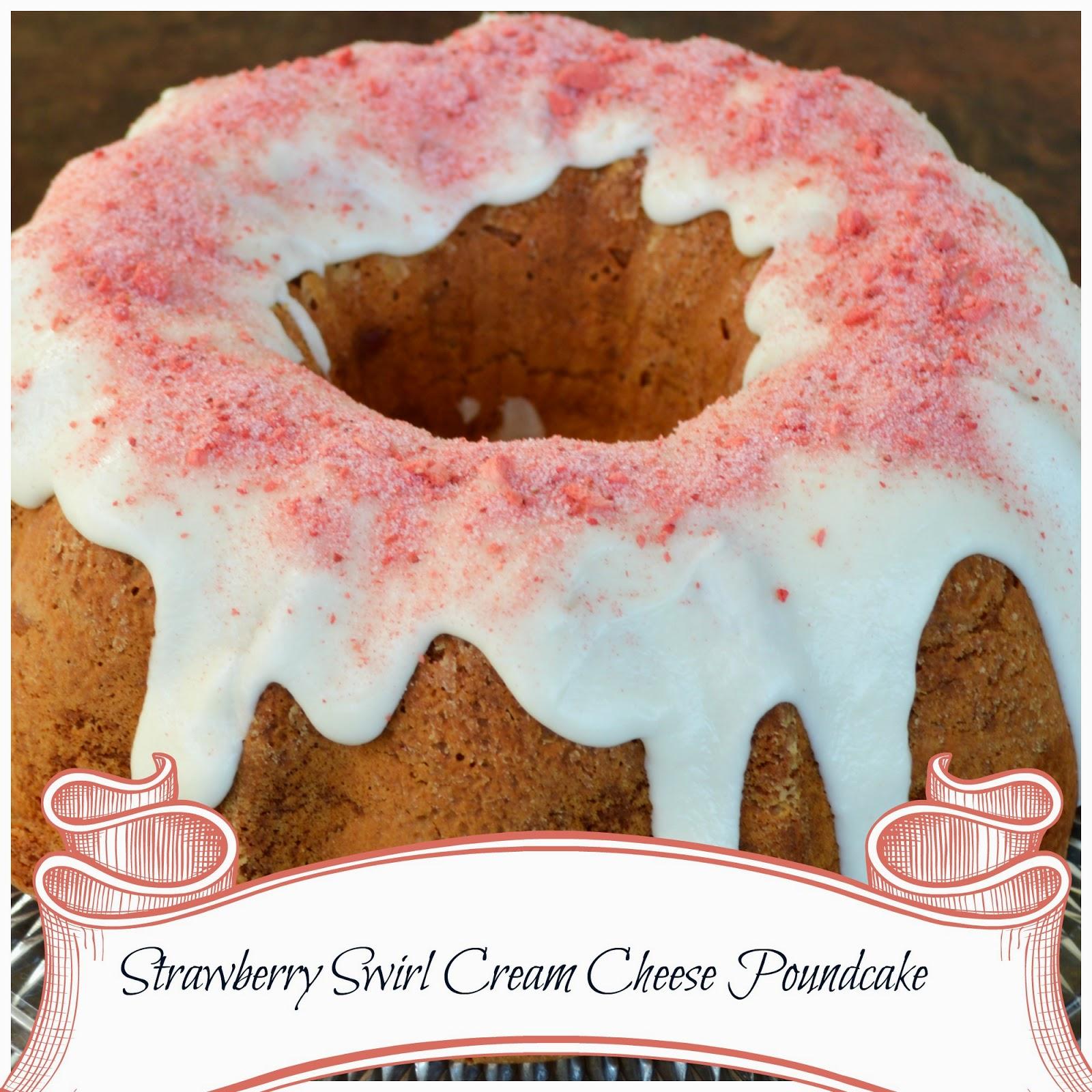 Big Rigs N Lil Cookies Strawberry Swirl Cream Cheese
