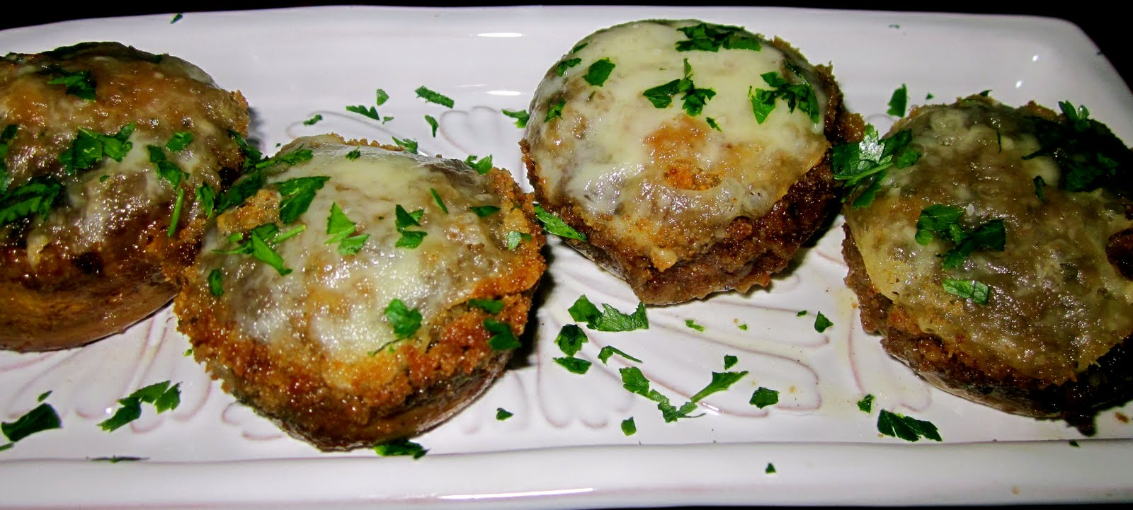 Haute + Heirloom: French Onion Soup Stuffed Mushrooms