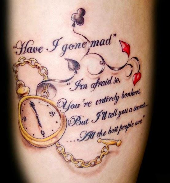 Short Quotes Tattoo