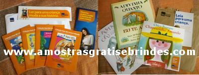 Livros Leia para uma Criança do Itau RECEBIDO