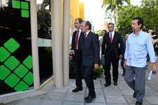 Visita Ministro da Educação Aloisio Mercadante