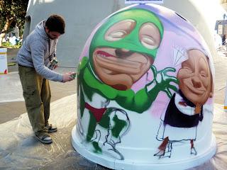 Sevilla - Reciclar con arte 05