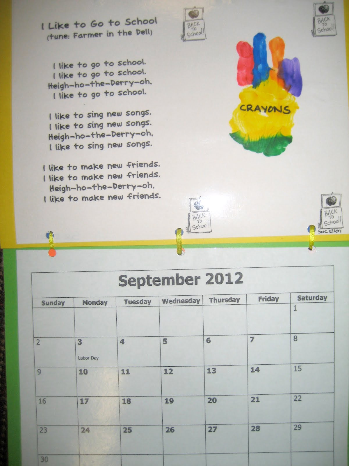 Monthly Calendar Rhyme : Monthly handprint poems new calendar template site