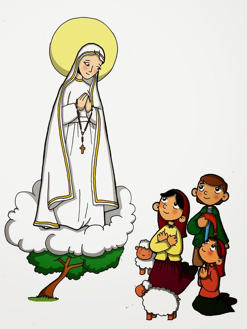 Virgen María, Ruega por Nosotros ®: IMAGEN DE LA VIRGEN DE FÁTIMA ...