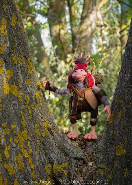 faerie creature ooak handmade fantasy goblin