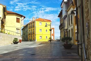 Luanco, Cuesta del Reloj