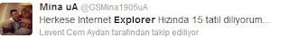 twitter internet explorer geyikleri