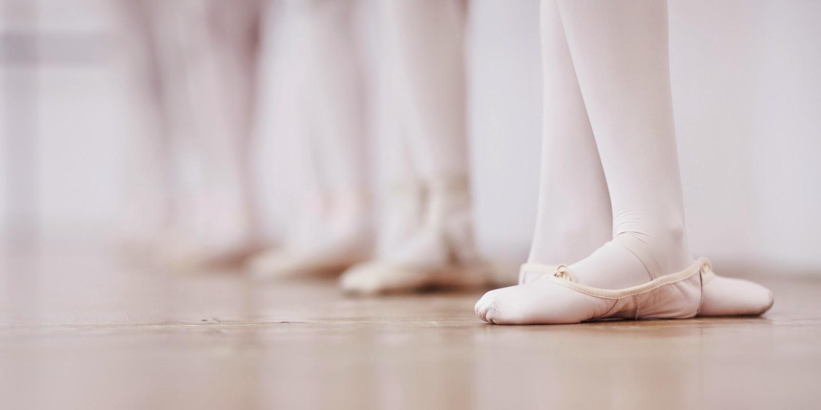 3ª posição dos pés em Ballet