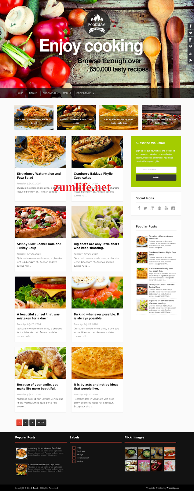 Responsive blogger template food mag free download for recipes blogs image responsive blogger template food mag free download for recipes blogs forumfinder Choice Image