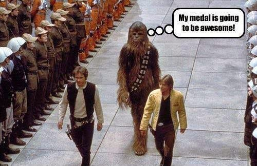 the adventures of team wilsun chewie finally gets a medal
