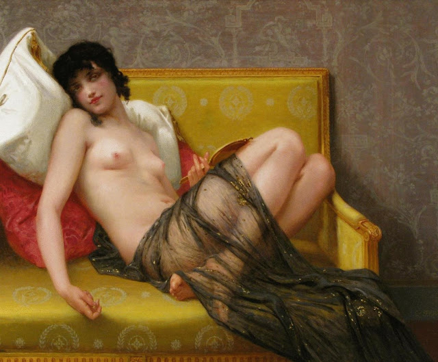 beautiful girl,guillaume seignac,french painter