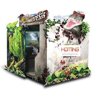 3D DINO Surviver,arcade video machine,gun simulator,gun shooting game machine