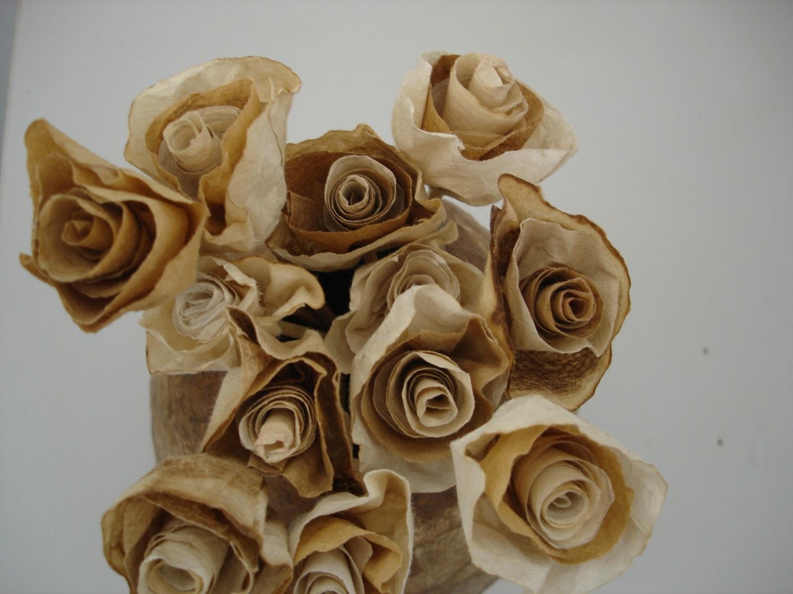 Artesanato Reciclavel ~ ReSignificArt Artesanato Reciclável Flores (Flores