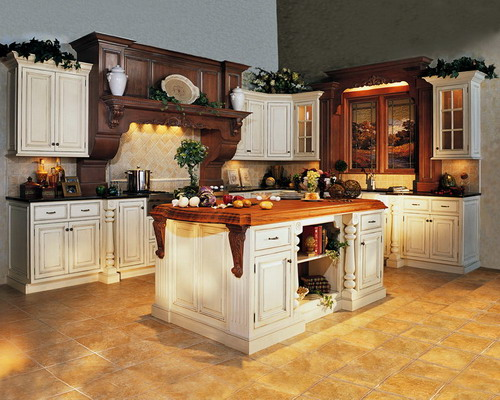 The exciting features of victorian kitchen cabinets to for Victorian style kitchen