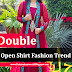 Indian And Pakistani Front Open Formal Shirts 2015-2016   Latest Open Double Shirts Suits