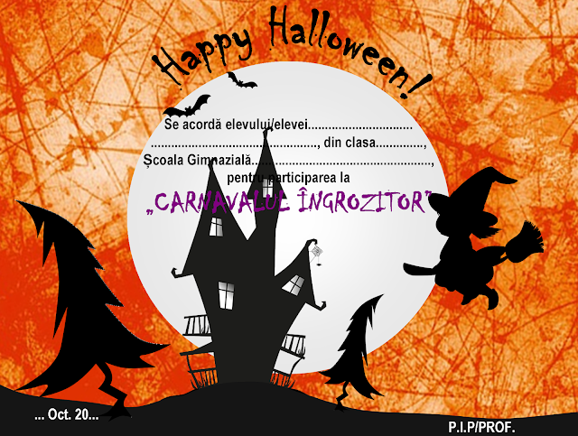 Diplome de Halloween