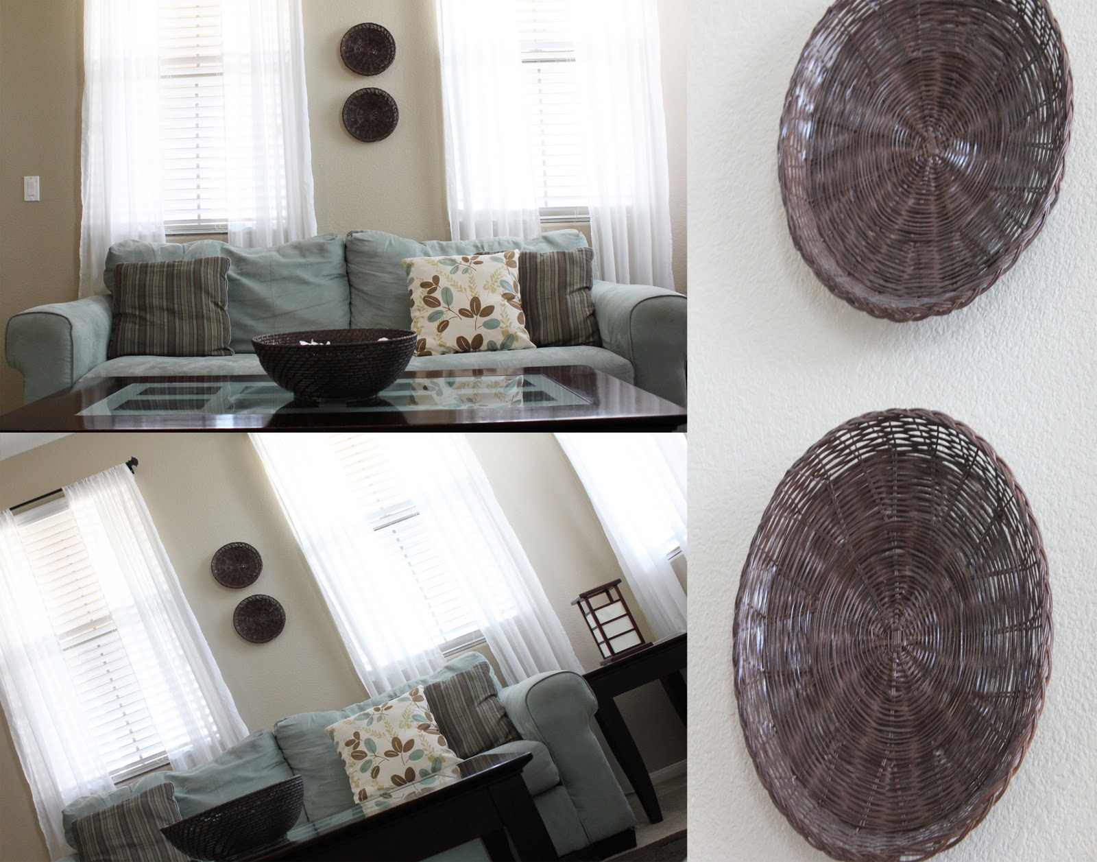 Thursday January 19 2012 & Fit Crafty Stylish and Happy: Simple home decor out of wicker ...