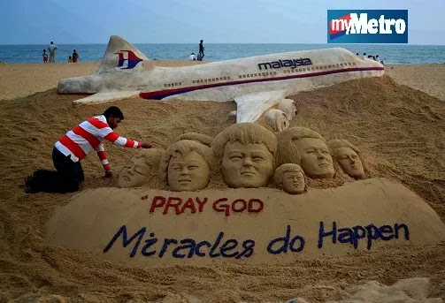 Miracles do Happen PrayForMH370