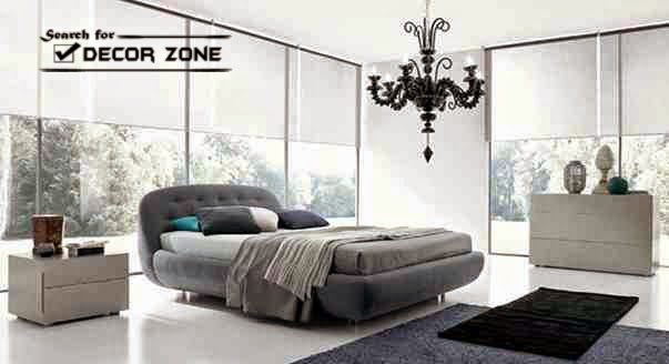 Modern italian bedroom furniture designs and features for Italian themed bedroom