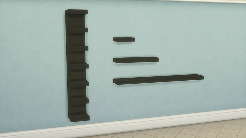 My Sims 4 Blog Ikea Lack Tables And Shelves Set By Veranka