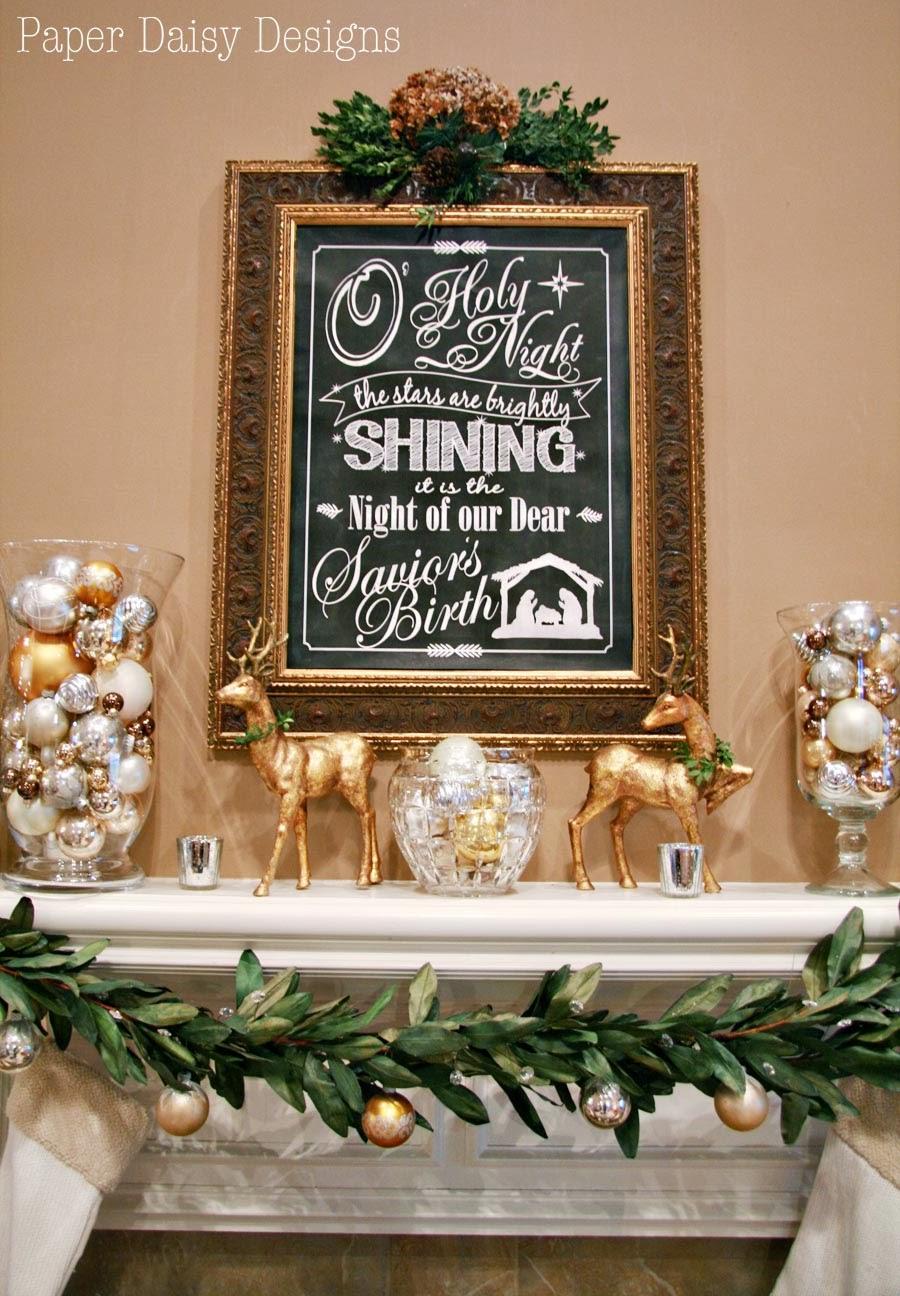 O Holy Night Christmas Printable