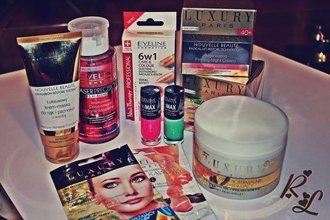 Zapowiedź testów z Eveline Cosmetics i Luxury Paris