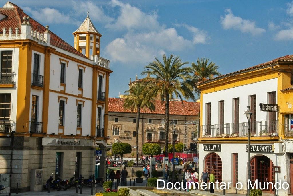 Praça de Espanha, Mérida, Espanha