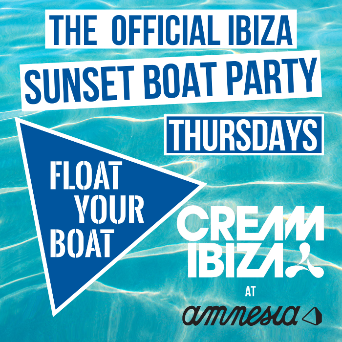 Cream Ibiza Float Your Boat 2015