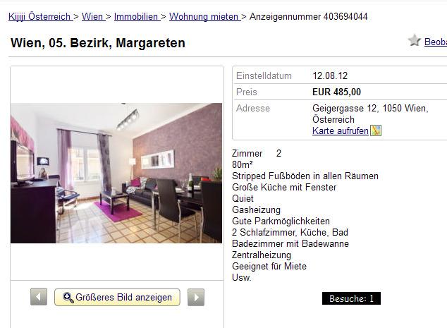 wohnung voll mit 2 zimmern eingerichtet hamburg gegen wohnungsbetrug against rental scammers. Black Bedroom Furniture Sets. Home Design Ideas