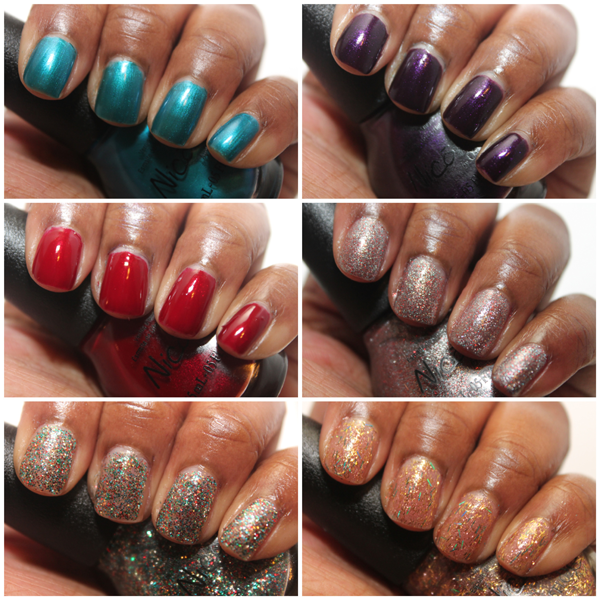 Nicole by OPI Kardashian Kolor Holiday Glitter and Shimmer Lacquers ...