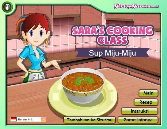Permainan Memasak Sup Miju-Miju