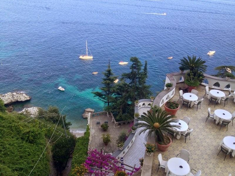escapada romántica a la Costa Amalfitana